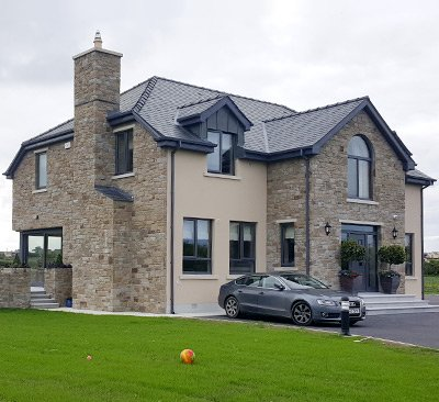 Stone houses in Dublin by Anthony's Masonry and Building services