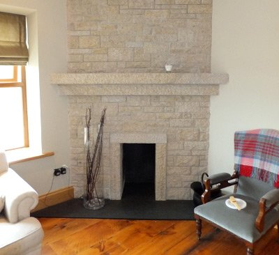 Stone Fireplaces in Dublin by Anthony's Masonry