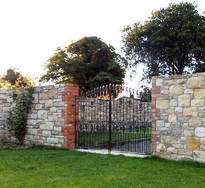 Stone walls in Dublin by Anthony's Masonry and Building services